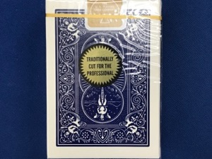 Card Bicycle Gold Standard Poker Blue