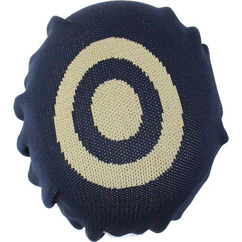 ORANGE Knit Helmet cover 4132 ENN NAVY