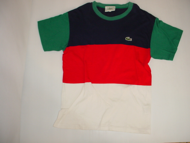 LACOSTE ラコステ ボーダーTシャツ
