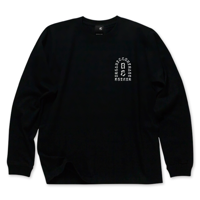 USUGROW / PST FTR LONG SLEEVE BLACK TEE