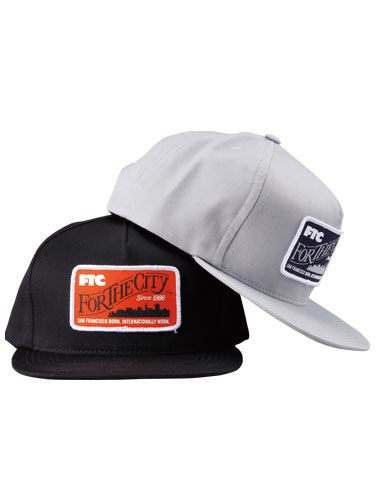 FTC 「SF BORN SNAP BACK 5 PANEL」