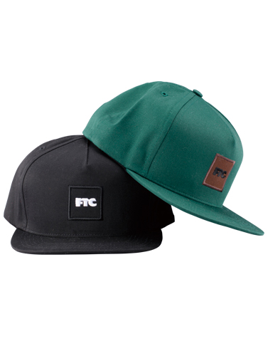 FTC 「SQUARE LOGO EMB SNAP BACK 5 PANEL」
