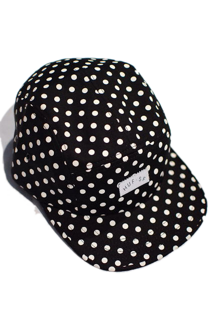 HUF CAP 「POLKA DOT VOLLEY」