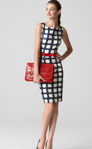 Milly     Adrienne Sheath Dress