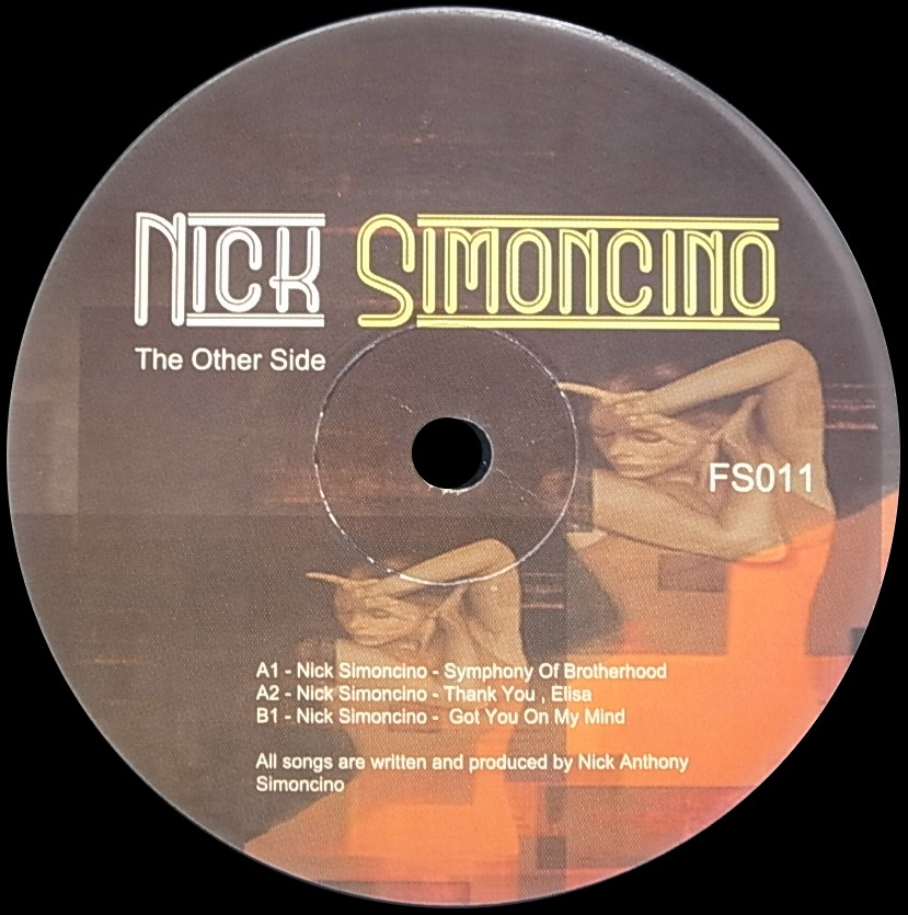 NICK SIMONCINO/THE OTHER SIDE