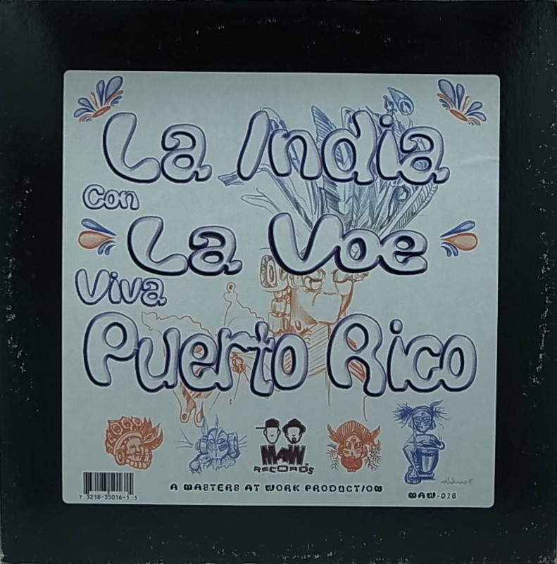 INDIA feat. MASTERS AT WORK / LA INDIA CON LAVOE/LA INDIA CON LA VOE