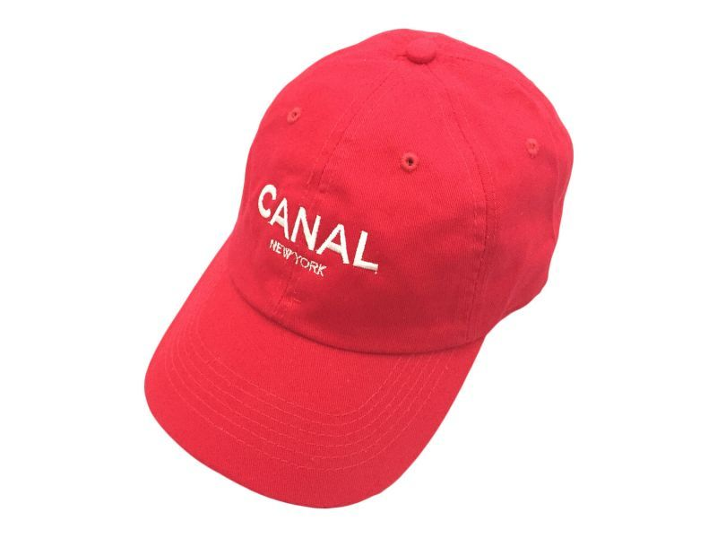 CANAL NEW YORK ADULT HEADWEAR CAP【RED/WHITE】