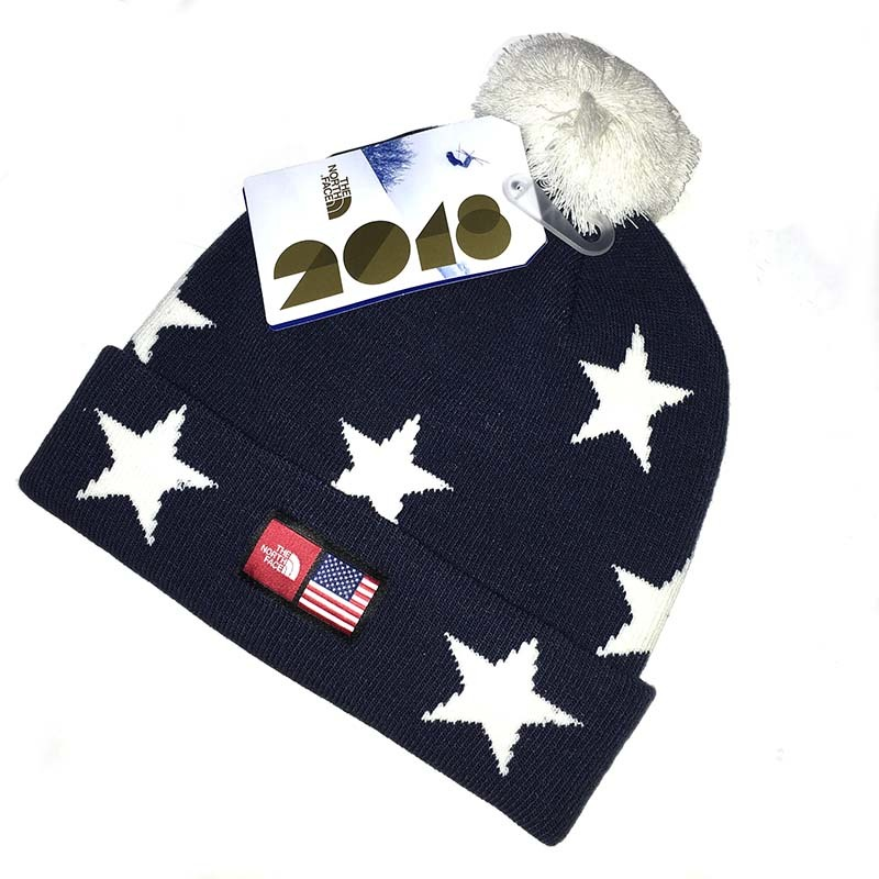 The North Face(ザ・ノースフェイス)International Collection Novelty Ski Tuk USA Bule Star【日本未発売】