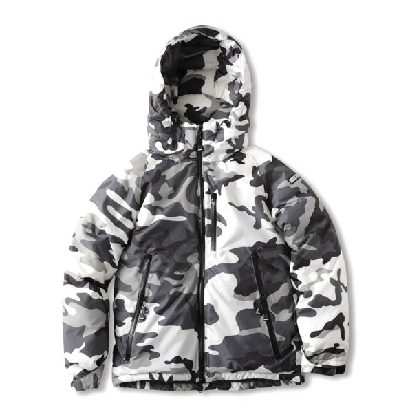 Finders Keepers (ファインダーズキーパーズ) 17FW AURORA DOWN JKT/3M/NANGA® [SNOW CAMO]