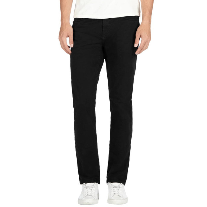 J BRAND KANE straight fit twill in black