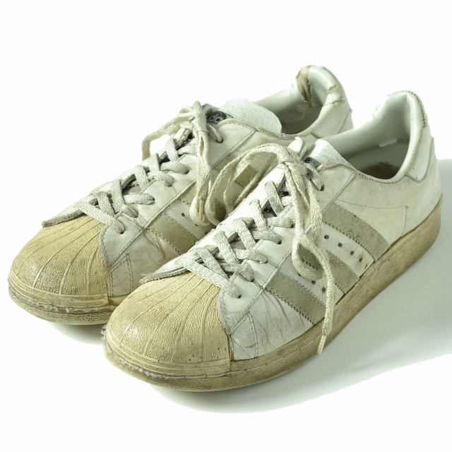 【50%OFF】 80's フランス製 adidas Superstar