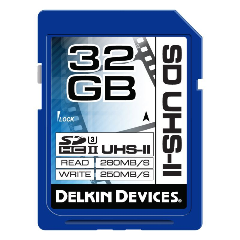 32GB SDHC UHS-II SpeedClass3 SDカード