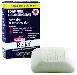 【HOPE'S RELIEF】クレンジングバー 110g(Cleansing Bar-Soap Free,Itchy,Dray or Sensitive Skin)