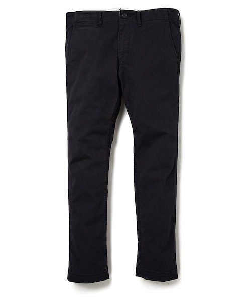BEDWIN<ベドウィン>/ 10/L CHINO MILITARY PANTS FD'JOE'(チノパンツ)/ブラック