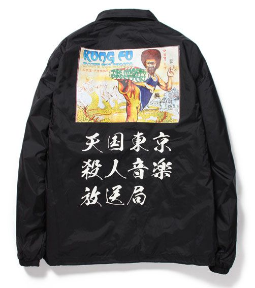 WACKO MARIA<ワコマリア>/LEE PERRY COACH JACKET<TYPE-7>(LEE'SCRATCH'PERRYダブルネームコーチジャケット)/ブラック