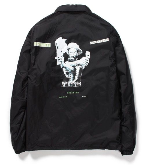 WACKO MARIA<ワコマリア>/LEE PERRY COACH JACKET<TYPE-6>(LEE'SCRATCH'PERRYダブルネームコーチジャケット)/ブラック