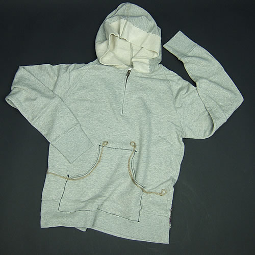 Jalian Pull-Over Hooded Swet (Heather) MサイズB