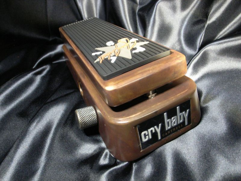 Jim Dunlop Cry Baby JC95 # Jerry Cantrell Signature Wah