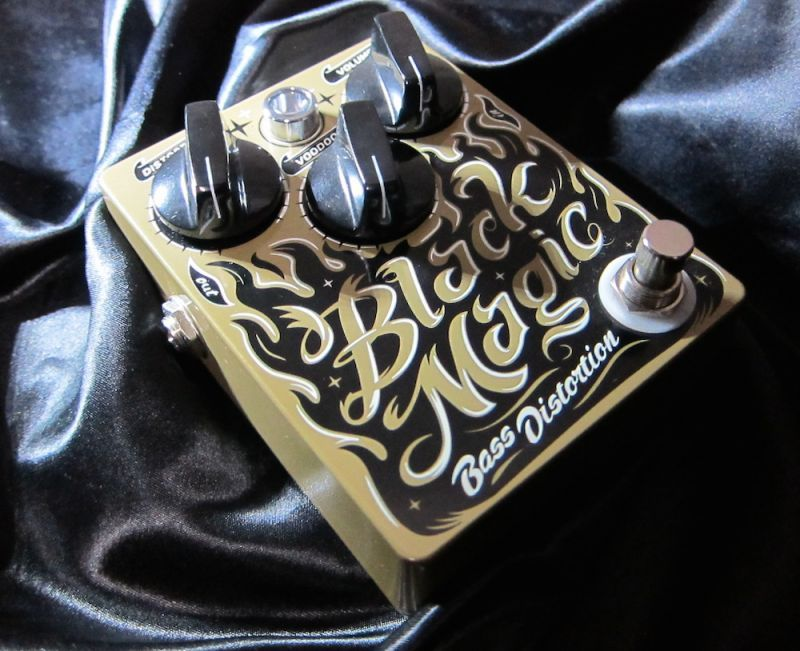 Dr. No Effects Black Magic Bass Distortion