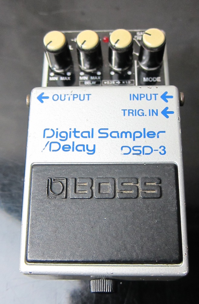 BOSS Digital Sampler / Delay DSD-3