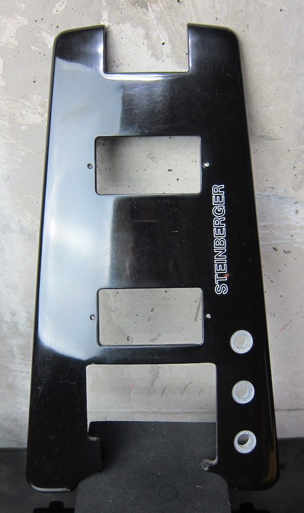 Steinberger Black Body Top Plate for XL-2T