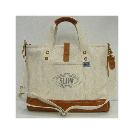 Three Eight(スリーエイト)×SLOW(スロウ) Tote Bag [Rugged-38 /Color Name Ver.]~Three Eight別注!~