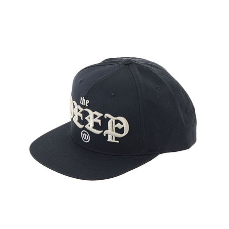 10DEEP / OLD LETTER SNAPBACK [NAVY]