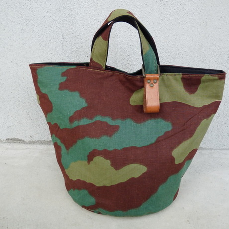 REMAKE round tote bag -Italy-