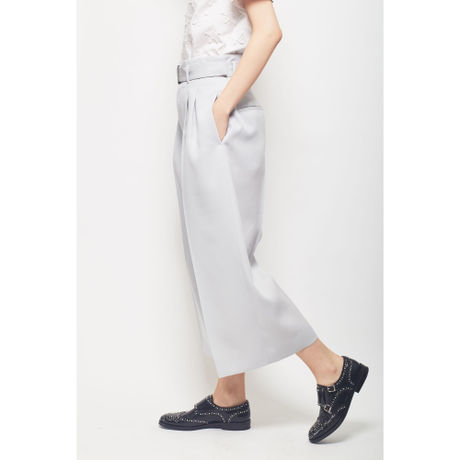 PRSEED WOOL WIDE PANTS