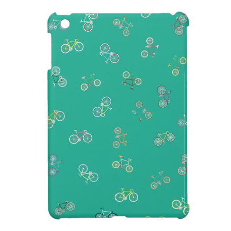 【NEW!】cross & mini bike iPad mini case (グリーン)