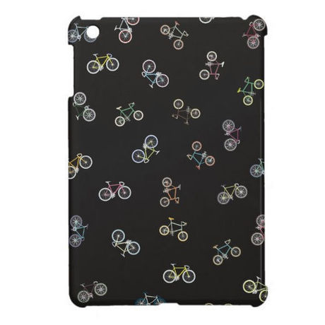 【NEW!】cross & mini bike iPad mini case (ブラック)