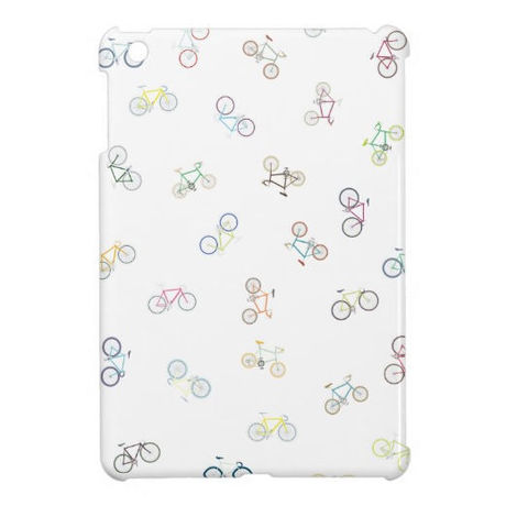【NEW!】cross & mini bike iPad mini case (ホワイト)