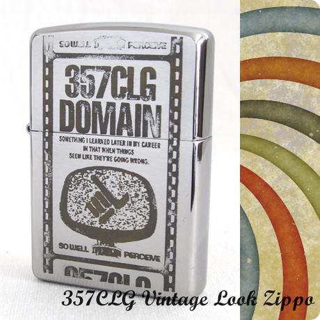 357CLG Vintage Look Zippo(DOMAIN)