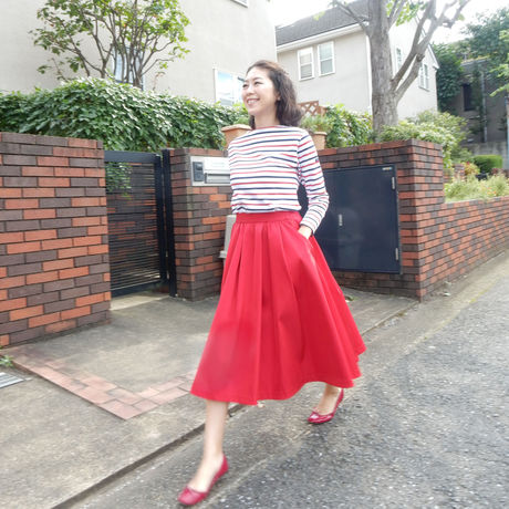 SCARLETT SKIRT - RED