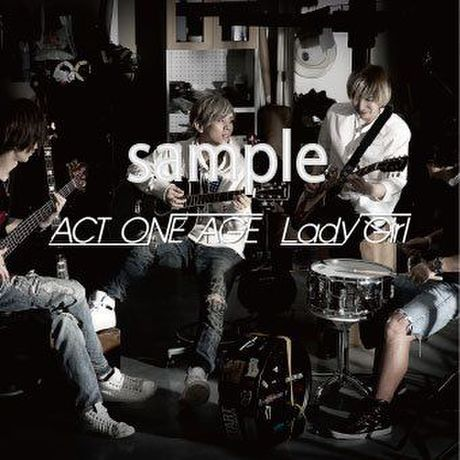 2nd single 『Lady Girl』通常盤 BRTW-1027