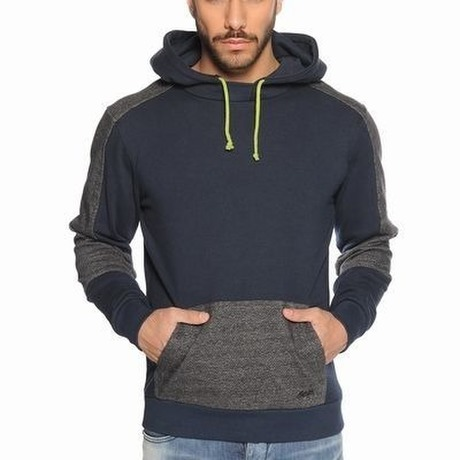[Humoer] Pullover Parka Dress Blues