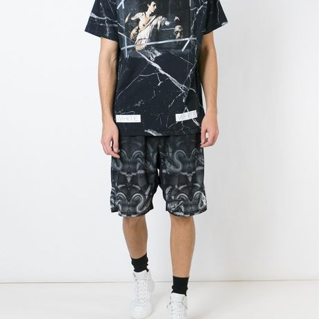 OFF-WHITE C/O VIRGIL ABLOH  /// Marble David with the Head of Goliath 2016 S/S - マーブル柄Tシャツ(ゴリアテ)