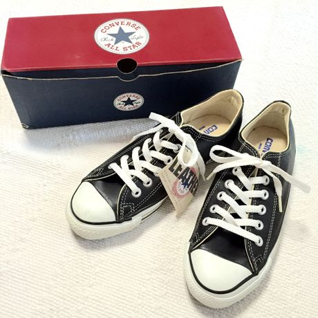 【converse】ALL STAR Leather lowcut Made in USA
