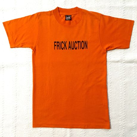 【USED】FRICK AUCTION T-SHIRT
