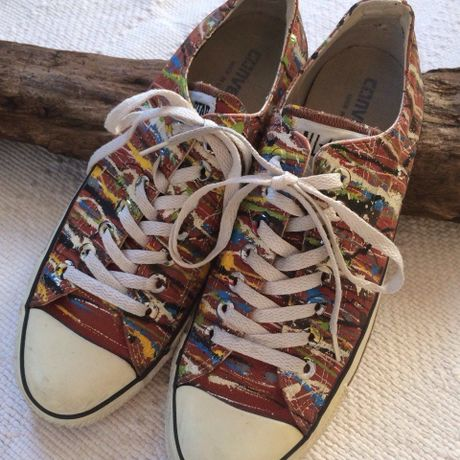 【converse】ALLSTAR painted Lowcut Made in USA