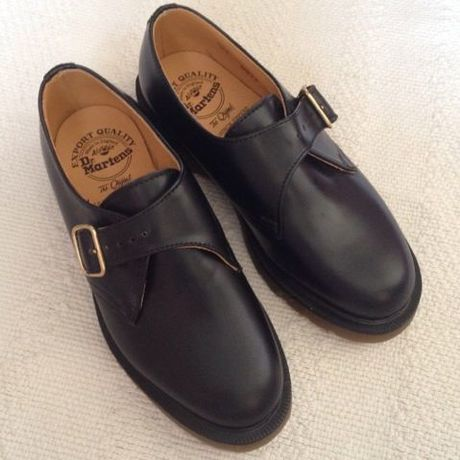 【Dr.Martines】Monk shoes Made in England