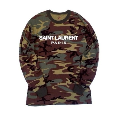 SAINT LAUREXX LONG SLEEVE TEE