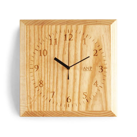 ANP CLOCK / White Ash