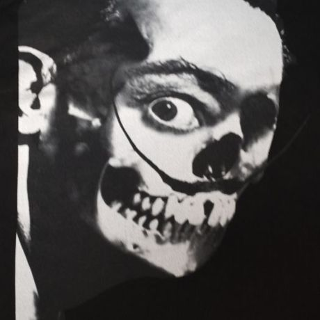 ANTIPOPCOLLAGE / DALISKULL -BLACK-
