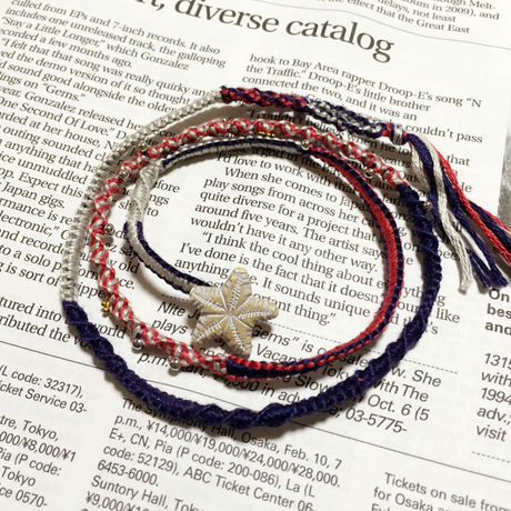 British color bracelet