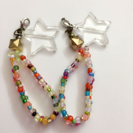 star strap with beads