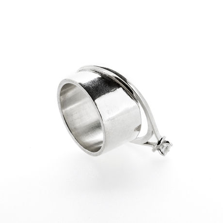 Double Ring | Silver