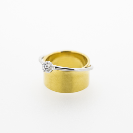 Double Ring | Gold / Silver