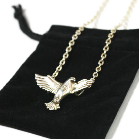 【Atomicdope】 シルバーネックレス Atomic Dove Silver Necklace アトミックドープ
