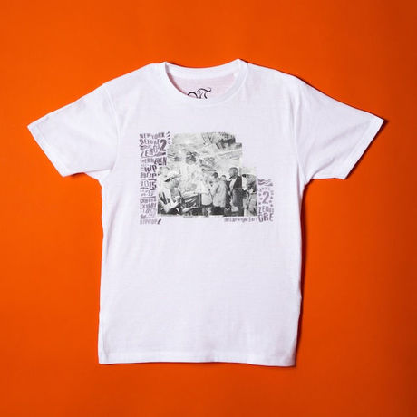 Hiero Photo Tee White